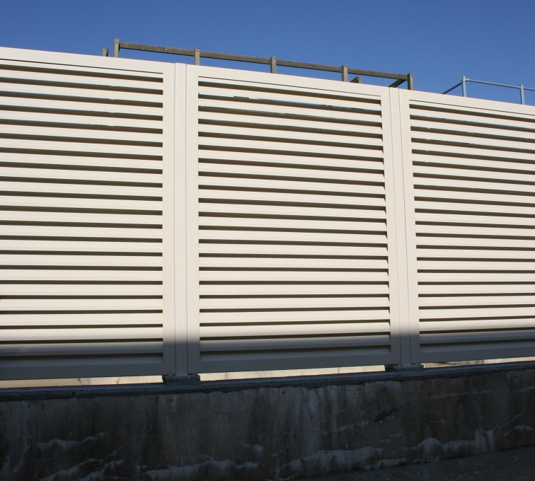AFC Rochester - Louvered Fence Systems Fencing, Louvered Fence System