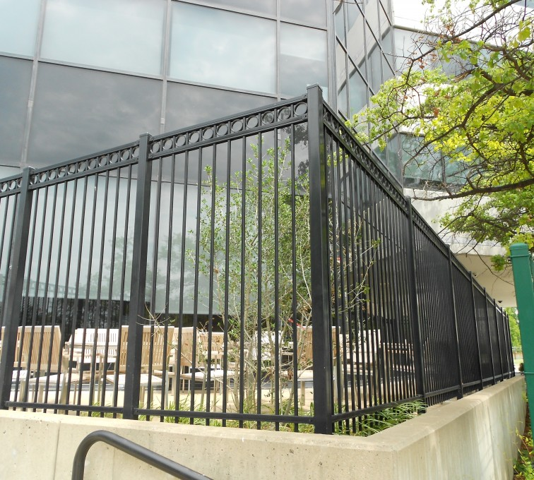 AFC Rochester - American Ornamental Fencing, Commercial Flat Top