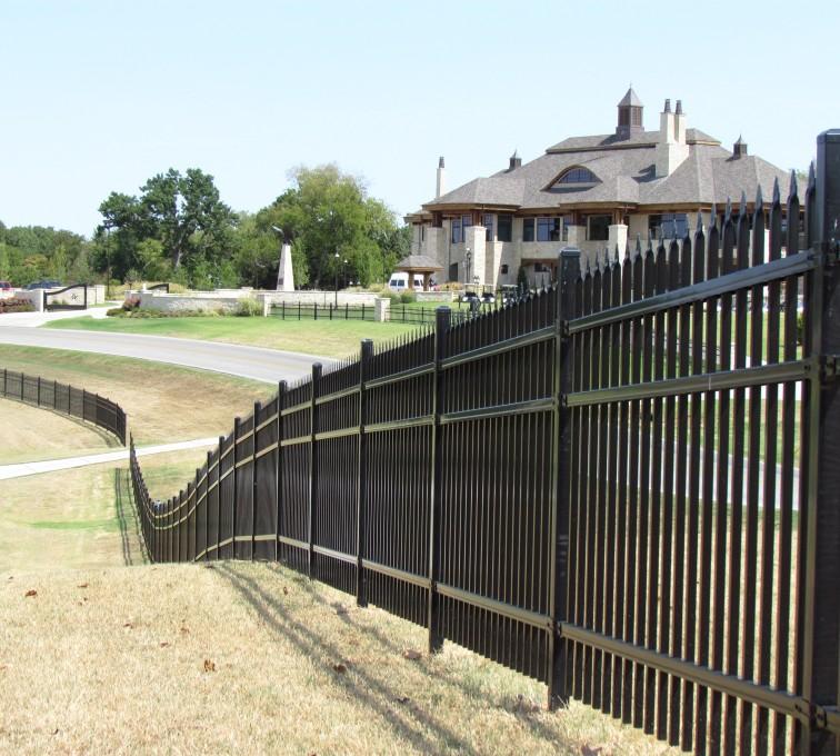 AFC Rochester - American Ornamental Fencing, Spear Top gates