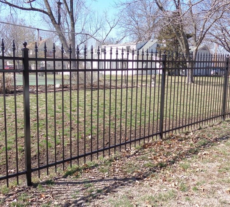 AFC Rochester - Ornamental Fencing, 5' with Quad Flares - AFC-KC