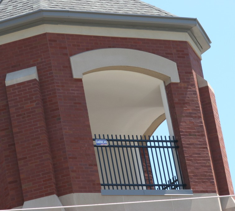 AFC Rochester - Ornamental Fencing, Ornamental Fence In Bell Tower (2)