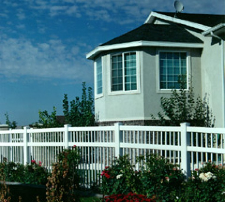 AFC Rochester - Vinyl Fencing, Ornamental Pool Style 859
