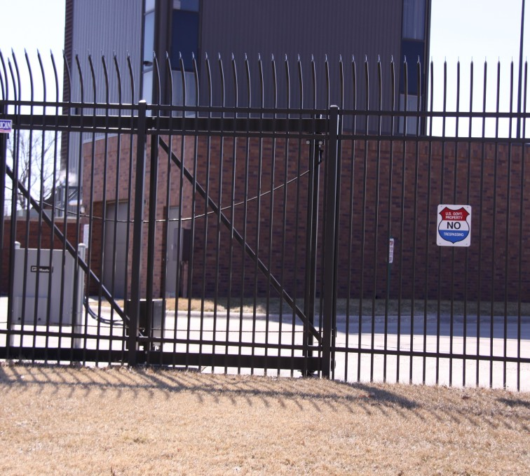 AFC Rochester - Custom Gates, Ornamental Slide Gate (2)