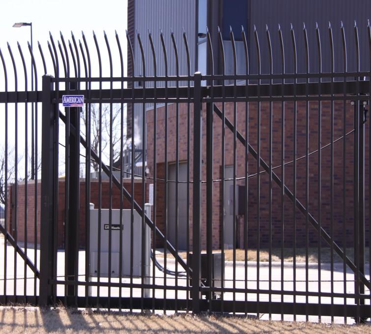 AFC Rochester - Custom Gates, Ornamental Slide Gate