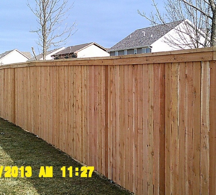 AFC Rochester - Wood Fencing, Picket Capboard - AFC - IA