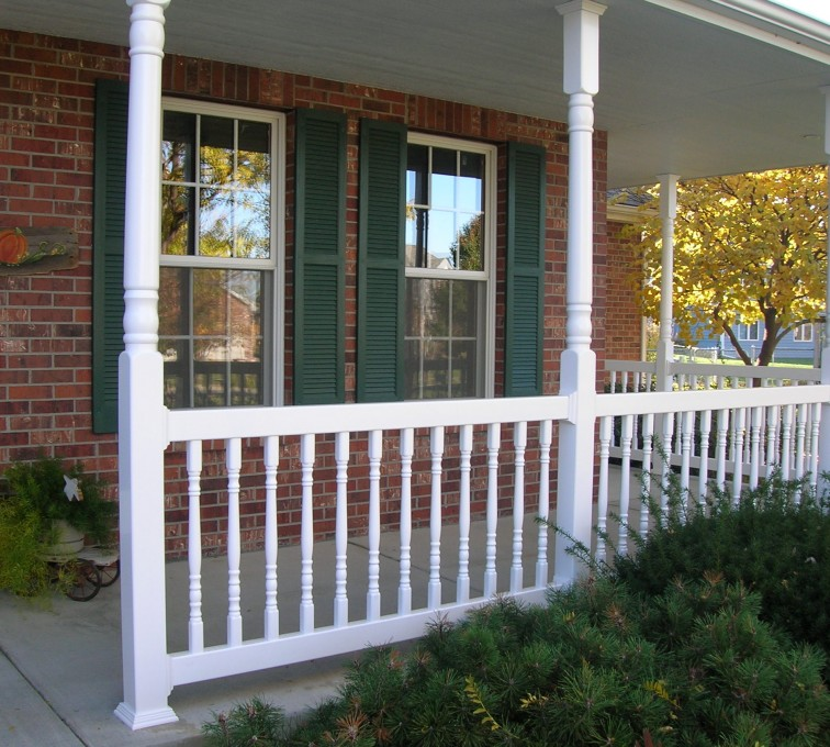AFC Rochester - Custom Railing, Porch Rail