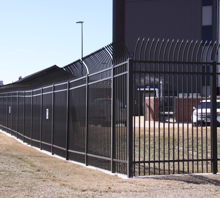 AFC Rochester - Ornamental Fencing, Radius Picket Ornamental Fence System