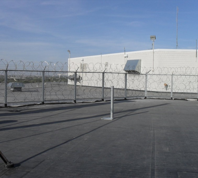 AFC Rochester - High Security Fencing, Rooftop Concertina