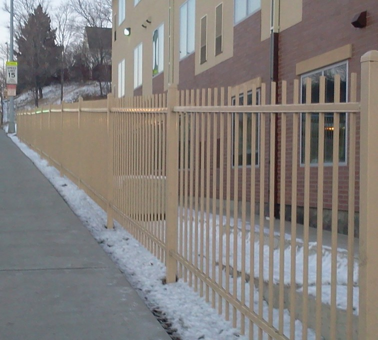 AFC Rochester - Ornamental Fencing, Sandstone Ornamental Fence