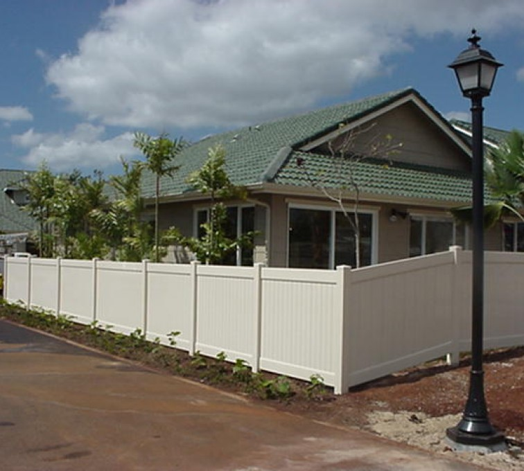 AFC Rochester - Vinyl Fencing, Solid Privacy (604)