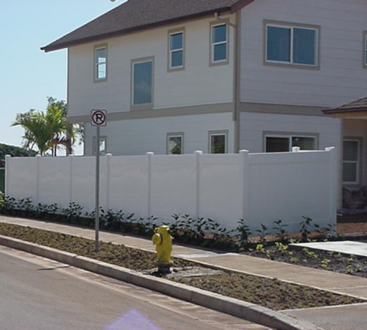 AFC Rochester - Vinyl Fencing, Solid Privacy (609)