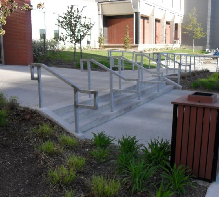 AFC Rochester - Custom Railing, UNL Handrail