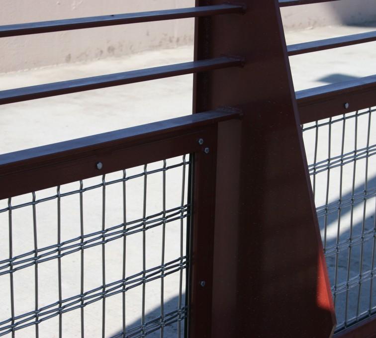 AFC Rochester - Custom Railing, Vine 1