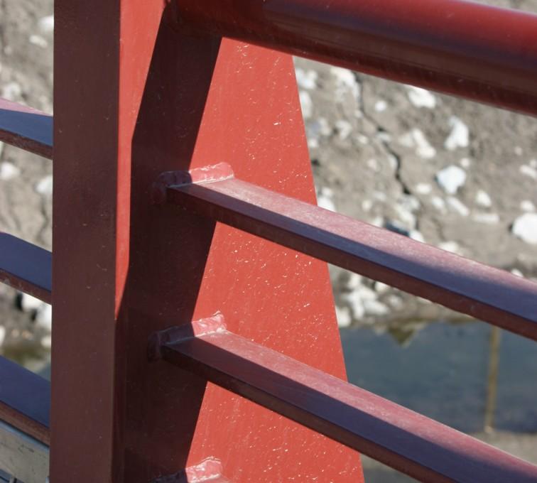 AFC Rochester - Custom Railing, Vine 3