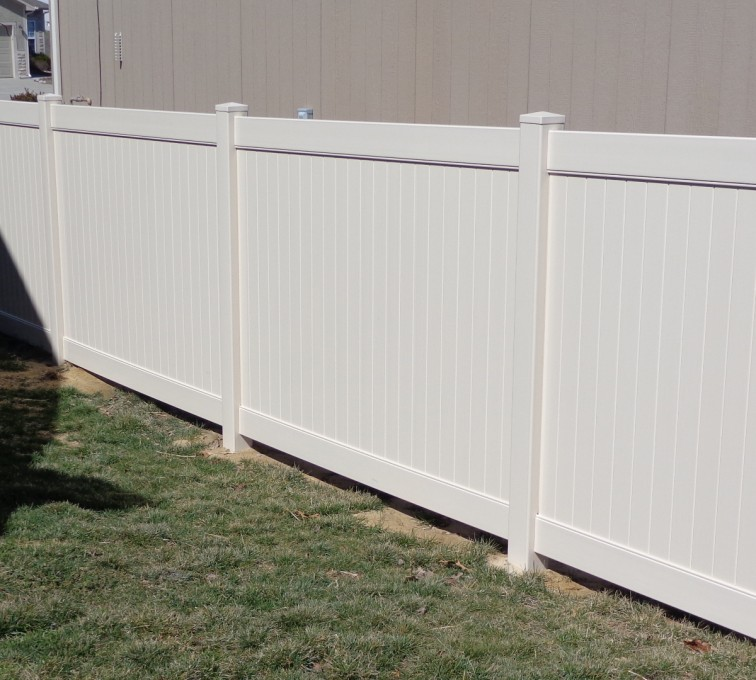 AFC Rochester - Vinyl Fencing, 6' Tan Privacy - AFC-KC