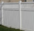 AFC Rochester - Vinyl Fencing,Vinyl 6' private with picket accent 706