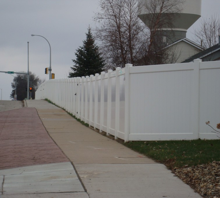 AFC Rochester - Vinyl Fencing, White Vinyl Privacy AFC, SD