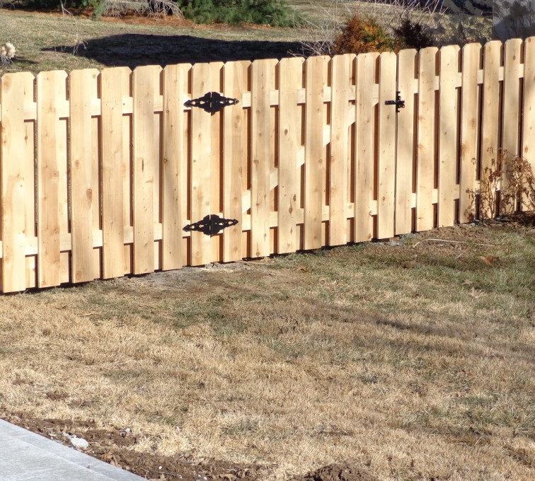 Rochester Fence Company - Wood Fencing, 4' Board on Board - AFC-KC