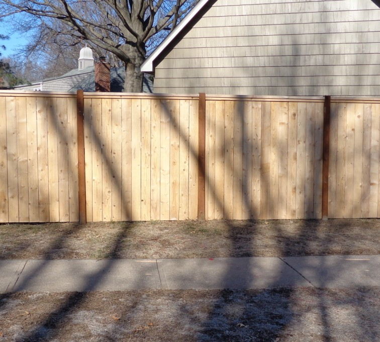 AFC Rochester - Wood Fencing, 6' Privacy with Cap Board - AFC-KC