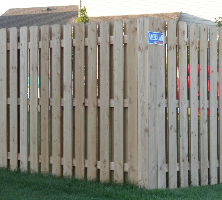 Rochester Fence Company - Wood Fencing, Wood BOB Fence1