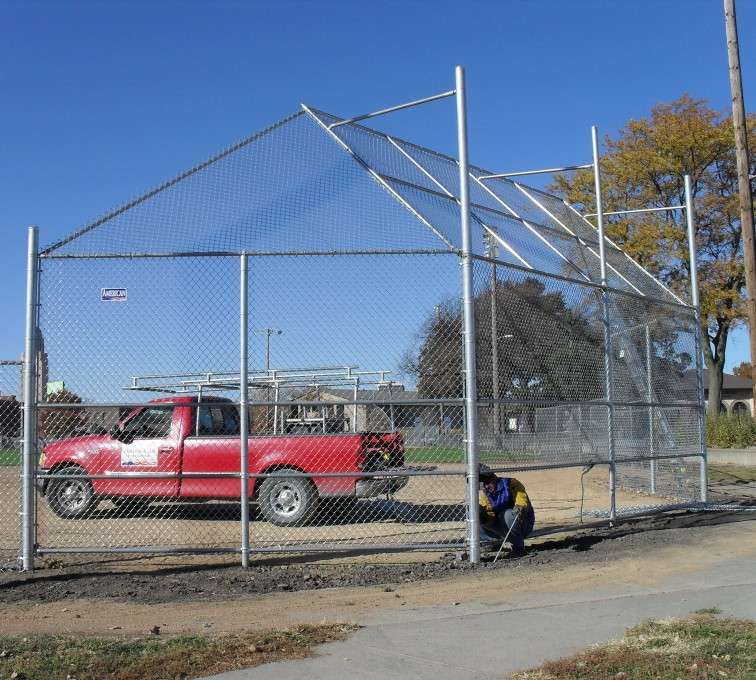 AFC Rochester - Sports Fencing, Backstop