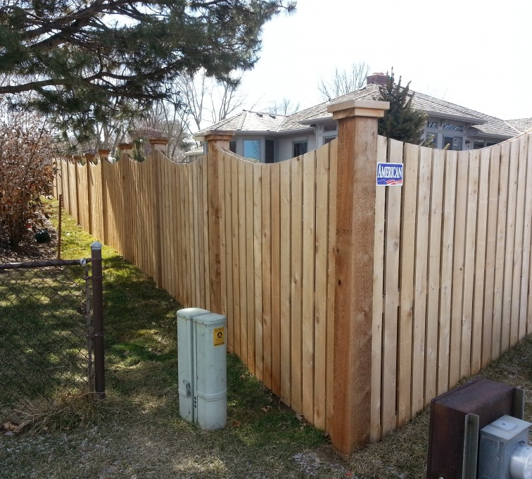 AFC Rochester - Wood Fencing, Custom WD 9922 Devonshire