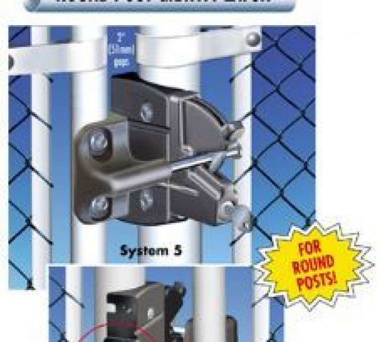 Rochester Minnesota Fence Company - Accessories, Lokk Latch Pro-Round Posts