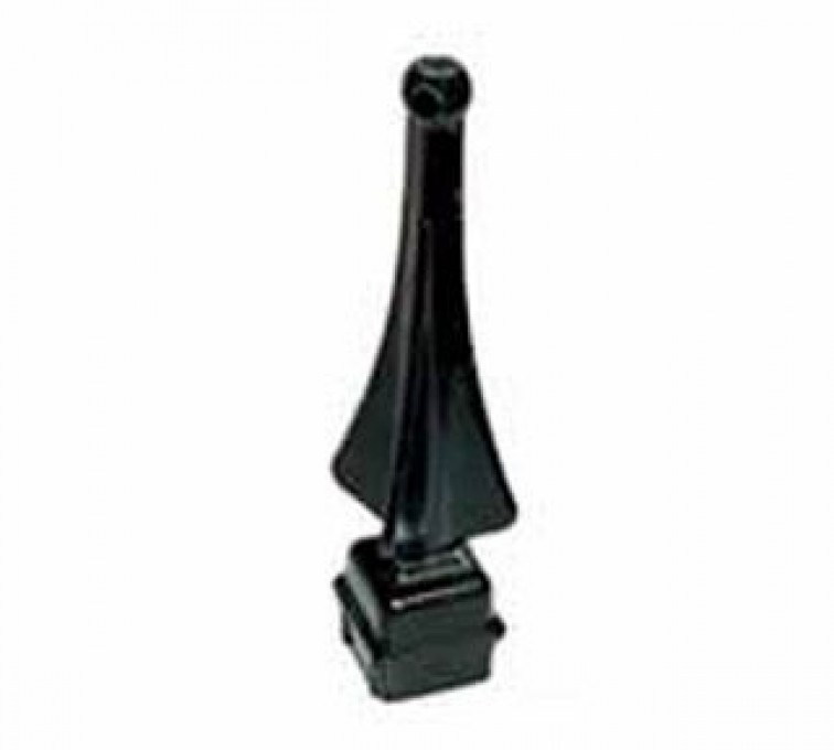 Rochester Minnesota Fence Company - Accessories, Quad Flair Picket finial-Ornamental Fence