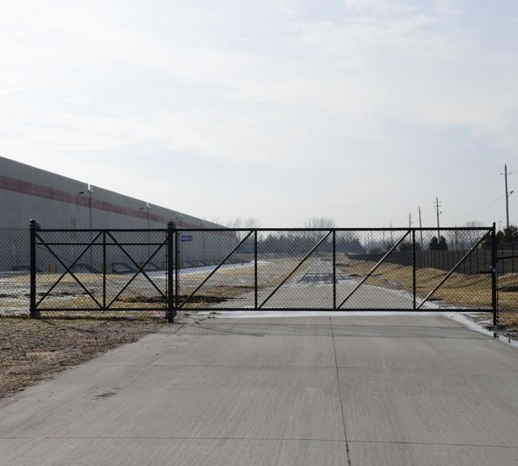 Single Track Vs Double Track Cantilever Gates American